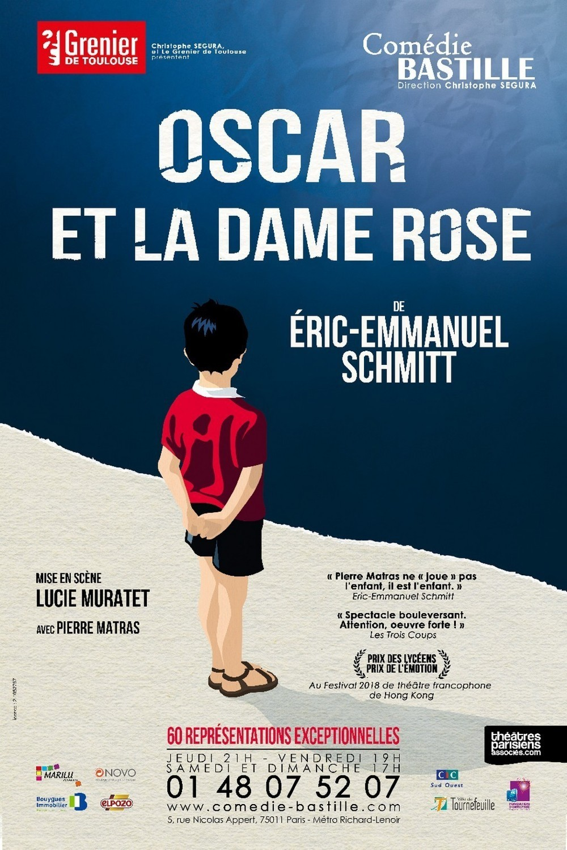 Oscar et la Dame Rose – Comédie Bastille jusqu'au 6 janvier 2019