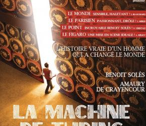 La Machine de Turing- Théâtre Michel –