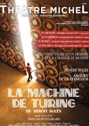 La Machine de Turing – Théâtre Michel