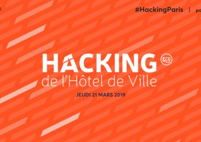 Hacking de l'Hôtel de Ville – Paris 21 Mars
