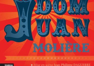 Dom Juan – Théâtre Ranelagh – Jusqu'au 14 Juillet