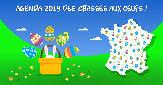 Pâques: Top départ Chasse Aux Oeufs