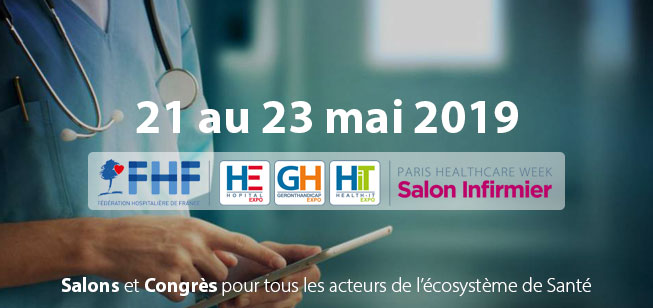 Paris Healthcare Week (Intermeditech – HopitalExpo – Hit – GerontHandicapExpo)