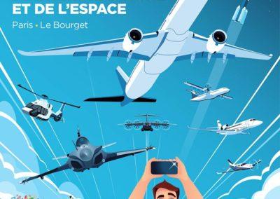 Salon International de l'Aéronautique et de l'Espace- Le Bourget du 17 au 23 Juin 2019