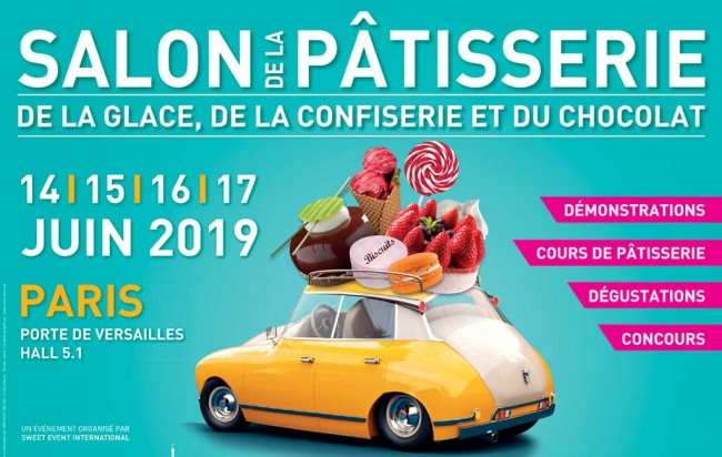 Salon de la Patisserie du 14 au 17 juin 2019 – Paris