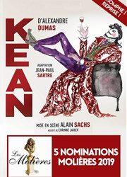 Kean – Théâtre de l'Oeuvre jusqu'au 27 Juillet