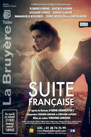 Suite Française – Théâtre la Bruyère – 21h00