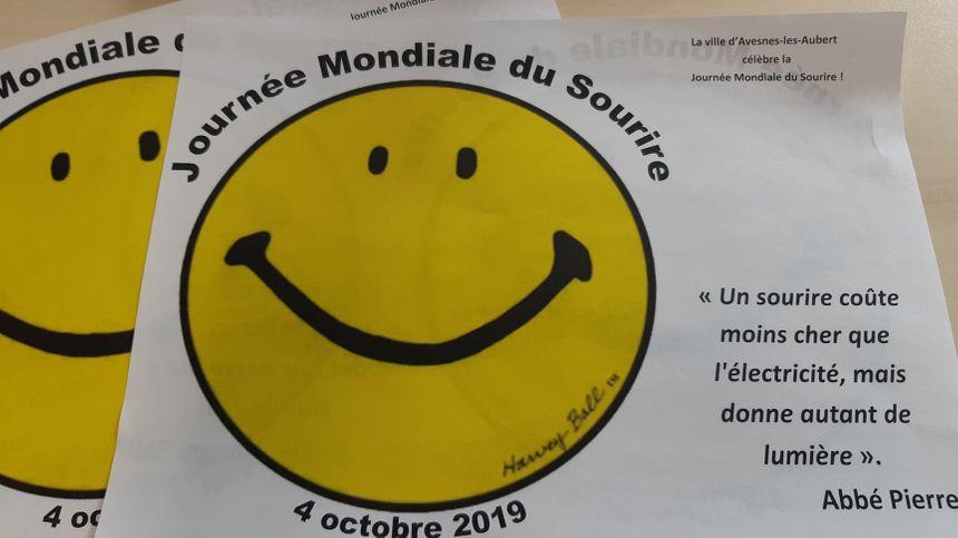 Vendredi 4 Octobre : Journée Mondiale du Sourire