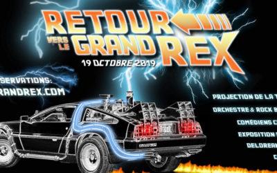 """Trilogie """"Retour vers le Futur"""" 19 Octobre – Grand Rex"""