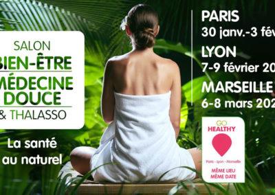Salon du Bien être et de la médecine douce – 30 Janvier – 3 février – Porte Versailles