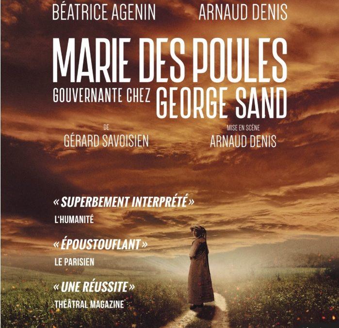 Marie des Poules- Théâtre Petit Montparnasse – jusqu'au 10 mai 2020