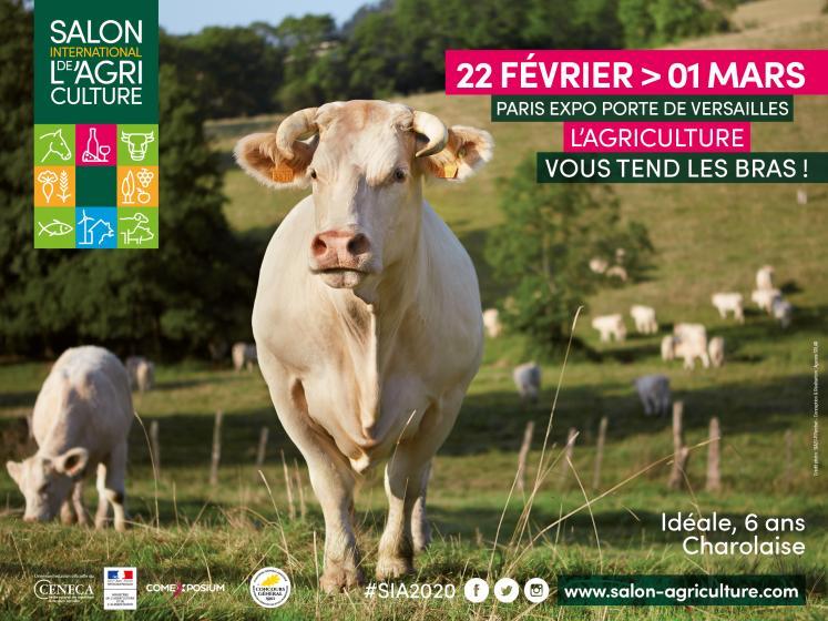 Salon International de l'Agriculture – Porte Versailles – du 22 février au 1er mars 2020