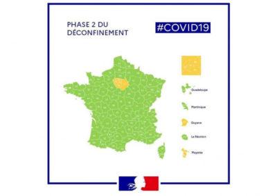 Décret du 31 mai 2020 : Phase 2 du déconfinement