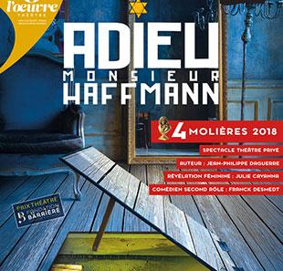 Adieu Monsieur Haffmann – Reprise en Septembre , théâtre de l'oeuvre