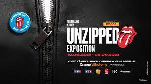 """Exposition """"Unzipped"""" – Plongée immersive dans l'univers des Rolling Stones du 10 Juin au 5 Septembre 21 – Marseille"""