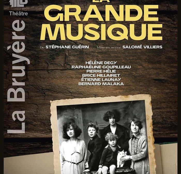 La Grande Musique – Théâtre Buffon – Off Avignon