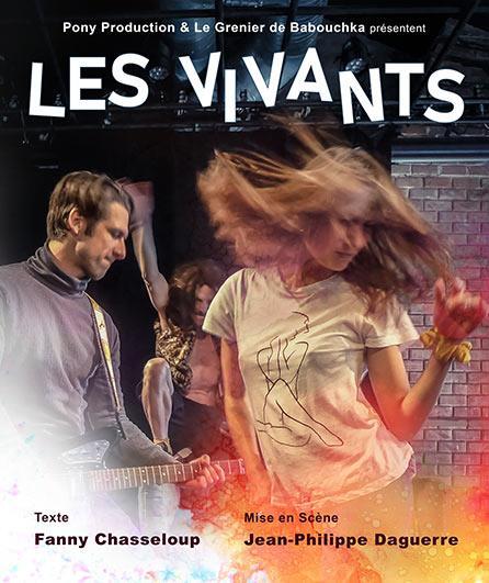 """Sélection du Off Avignon – """"Les Vivants"""" – Théâtre des corps saints – 21h"""